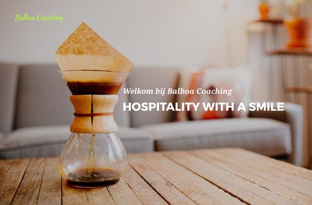 Balboa Caoching Hospitality With A Smile Angeles Dokter Open Coffee Utrecht Netwerken Topshelf Media Martin Planken