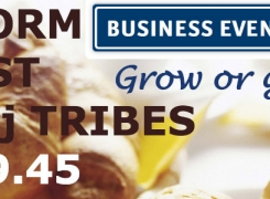 16 februari 2017 |  Lancering Brainstorm Breakfast 08:00 – 09:45 uur & Inspiring Tribality Day tot 18:00