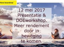 12 mei 2017 | Meer rendement uit elkaars netwerk door in beweging te komen met Jan Pieter van Leeuwen van HDLG