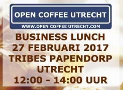 27 februari 2017    Business Lunch 12:00 – 14:00 uur [gratis deelname Business Event 10 maart]