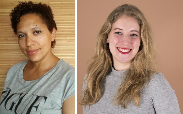 Sharon Dania en Esmee Vermeulen van Fix Ergonomics