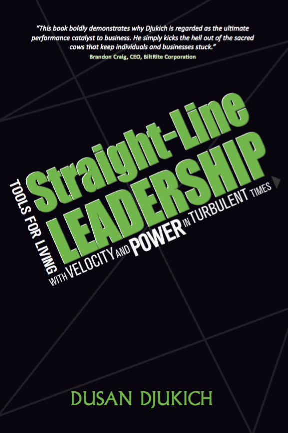 Straight-Line Leadership - Open Coffee Utrecht - Topshelf Media