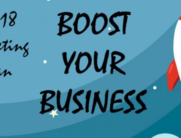 14 december 2018 | Netwerkbijeenkomst + Marketingsessie 'Boost Your Business' met Martin Planken van Topshelf Media