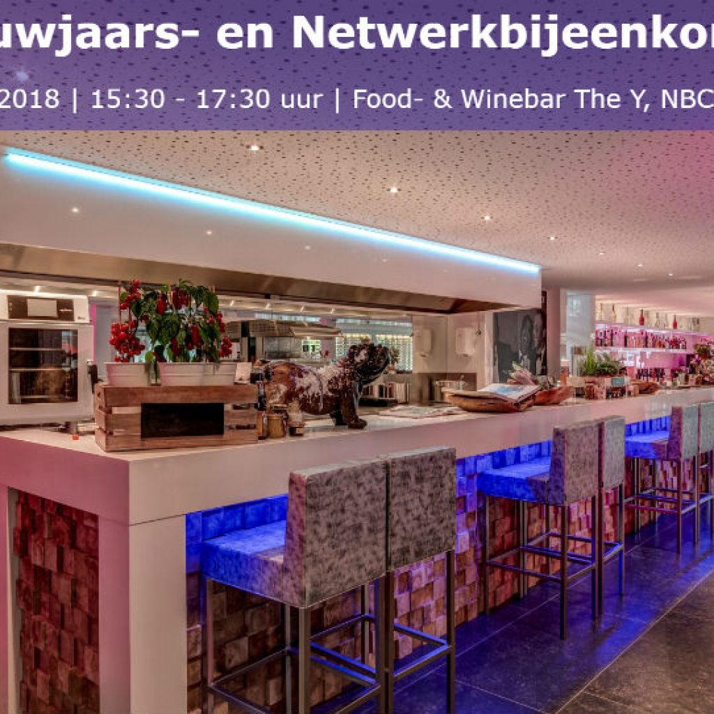 nieuwjaars- en netwerkbijeenkomst Open Coffee Utrecht Business Restaurant food winebar The-Y